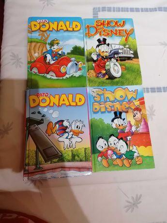 Livros banda desenhada Disney