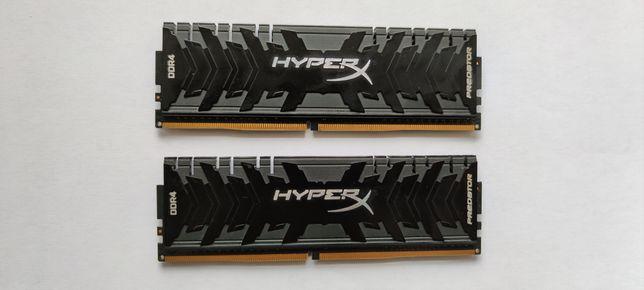 HyperX 8 GB (2x4GB) DDR4 3200 MHz Predator Black