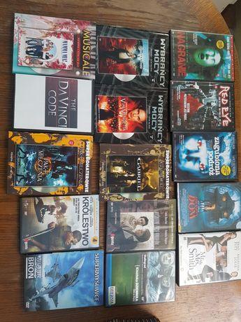 Filmy DVD różne sprawne