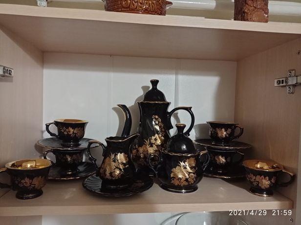 Красивый чайный сервиз, сделано в СССР