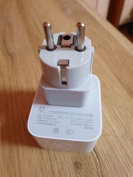 Xiaomi gniazdko uniwersalne WiFi z wyjściami USB x2