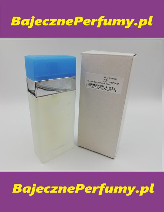 Perfumy DOLCE&GABBANA light Blue 100ml Tester hit okazja WYSYŁKA gghhj Częstochowa - image 1