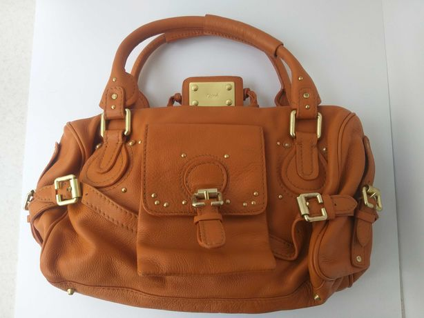 кожаная сумка Chloe