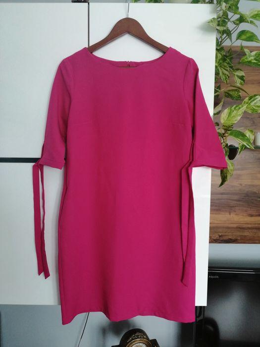 Sukienka w kolorze malinowym Płock - image 1