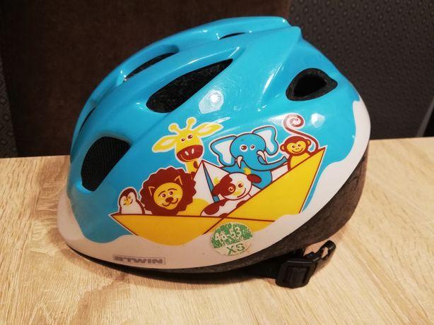 Kask rowerowy dziecięcy Btwin xs 46-53