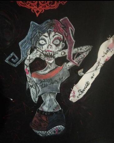 Харли Квин/Zombie,emo, goth, punk, rock