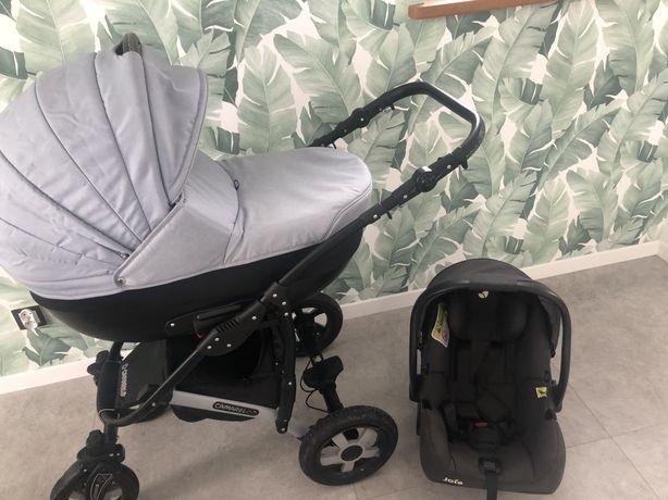 Wózek dzieciecy 2w1