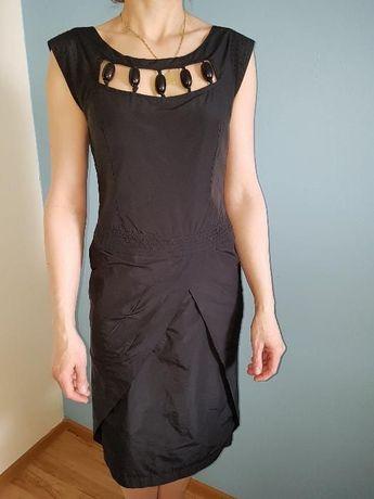 Suknia-czarna-rozmiar S