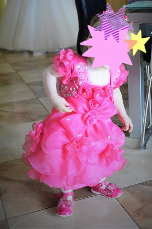 Sukienka małej księżniczki -buciki gratis