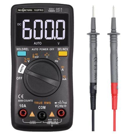 Мультиметр автомат RICHMETERS RM102Pro защита до 550 в 6000 отсчетов,