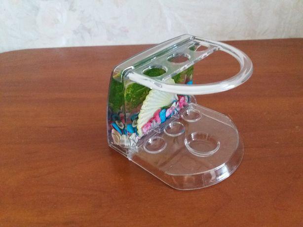 Подставка для зубных щеток Аквалиния