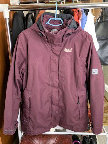 Зимняя куртка 2 в 1 Jack Wolfskin оригинал