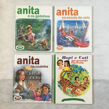 Livros da colecção Anita