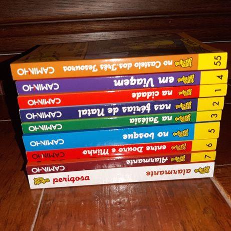 """Alguns livros da coleção """"uma aventura"""""""