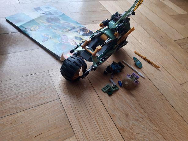 Zestaw LEGO Ninjago 71745 dżunglowy chopper Lloyda