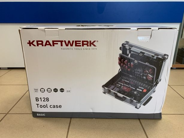 Walizka / wózek narzędziowy 163-części Panasonic Kraftwerk B128