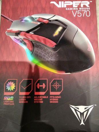 Игровая компьютерная мышка Viper V570 RGB Blackout от Patriot