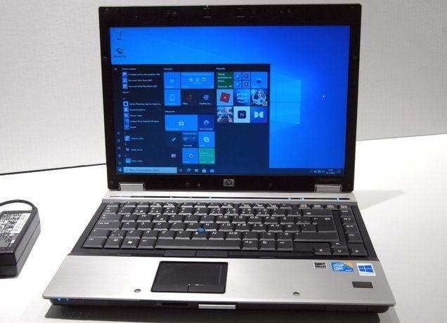 mocny EliteBook Intel C2DVPro/4GB RAM/128 SSD/Kamera - jak nowy