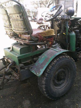 Трактор саморобний Обмін на мото, авто, металлошукач металошукач