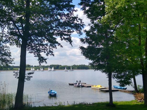 PROMOCJA !! Komfortowy ogrzewany dom bezpośrednio nad samym jeziorem