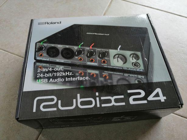 Interface de audio Roland Rubix 24