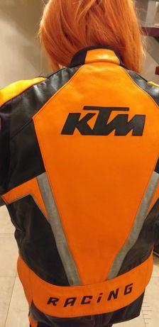 Strój motocyklowy skórzany KTM