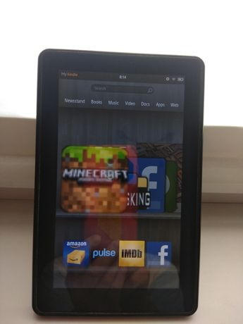 Планшет Amazon Kindle Fire. Minecraft/Facebook