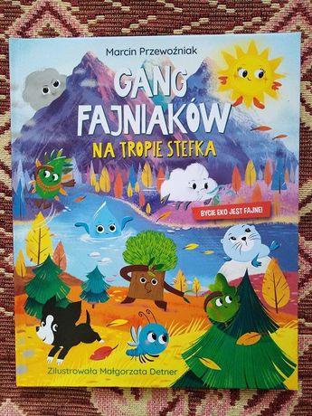 Książka Gang Fajniaków Na tropie Stefka zamienię na Zimową przygodę