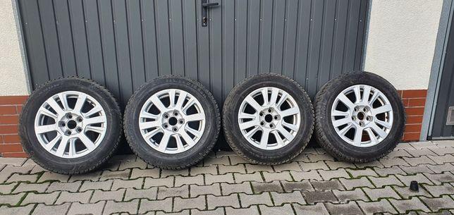 """Koła Audi 16"""" oryginalne felgi + opony zimowe 225x55 R16"""