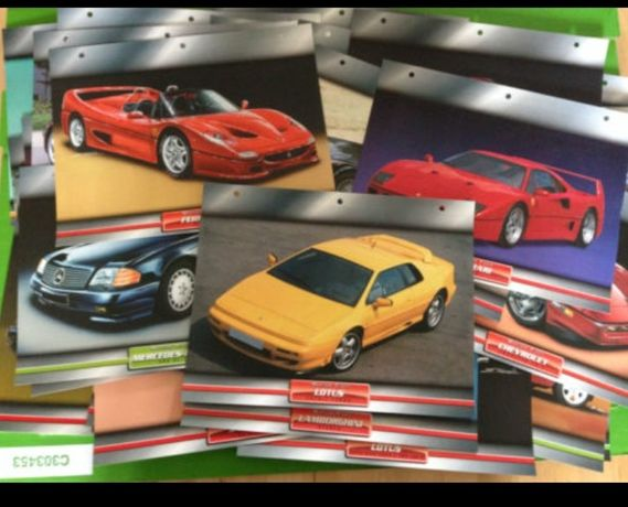 Atlas Editions Collectable Dream Cars cards (Encyclopedic) 50 pcs.