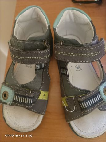 Sandały chłopięce 23 rozmiar