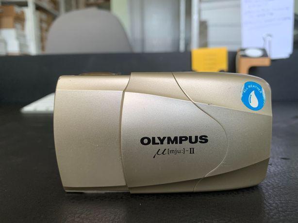 Пленочный фотоаппарат Olympus mju: II