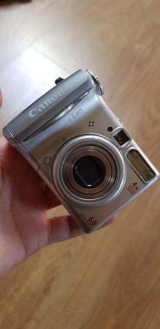 Aparat fotograficzny Canon a540