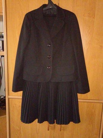 Школьная форма для девочки р. 140, пиджак и юбка