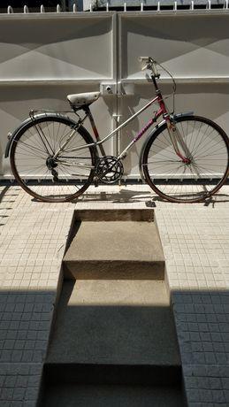 Bicicleta estrada clássica anos 80
