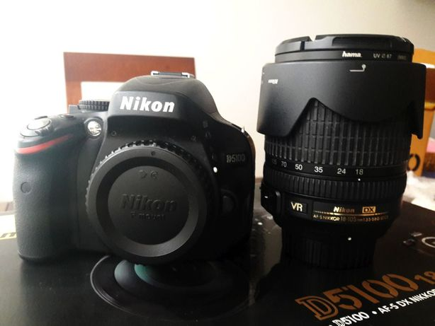 Aparat Nikon D5100 AF-S Nikkor 18-105 VR Kit