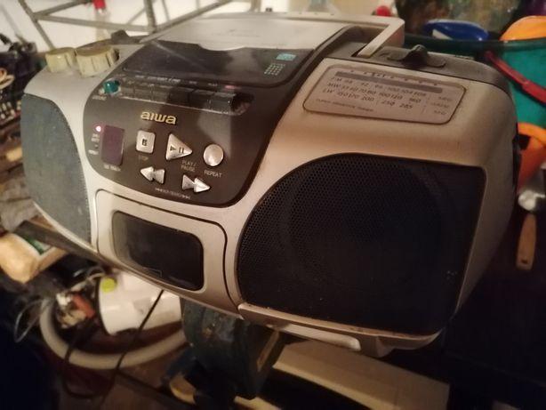 Magnetofon radio odtwarzacz CD Aiva