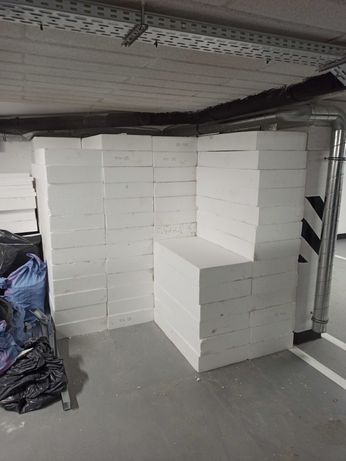 Styropian EPS100 podłoga 46m2  15cm