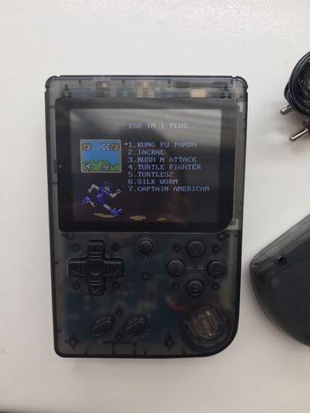Портативная мини приставка retro fc 168 игр