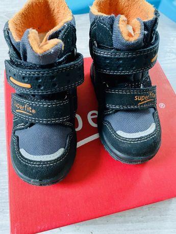 Buty chlopięce ,zimowe superfit. Śniegowce 21 model Husky 1
