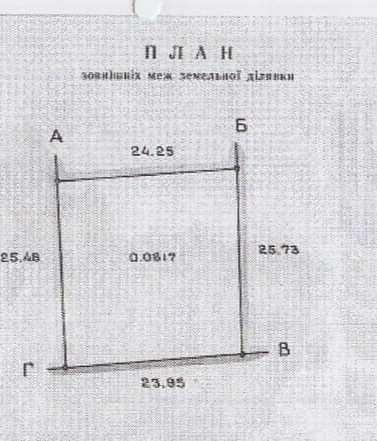 Земельна ділянка біля Львова в Ков'ярах