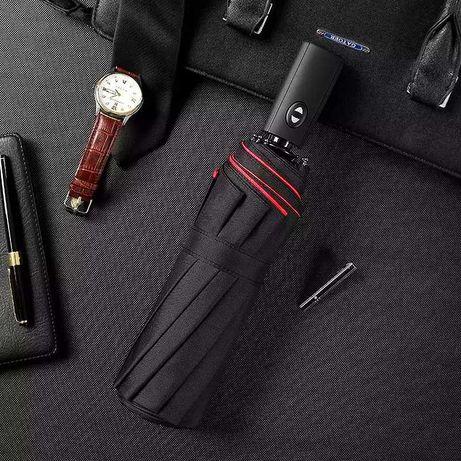 Ветрозащитный зонт | Двухслойный зонтик | Автоматический зонт