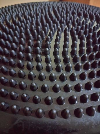 Sensoryczny dysk do ćwiczeń 33 cm koloru czarnego - Produkt Polski