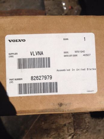 82627979 Volvo педаль газа