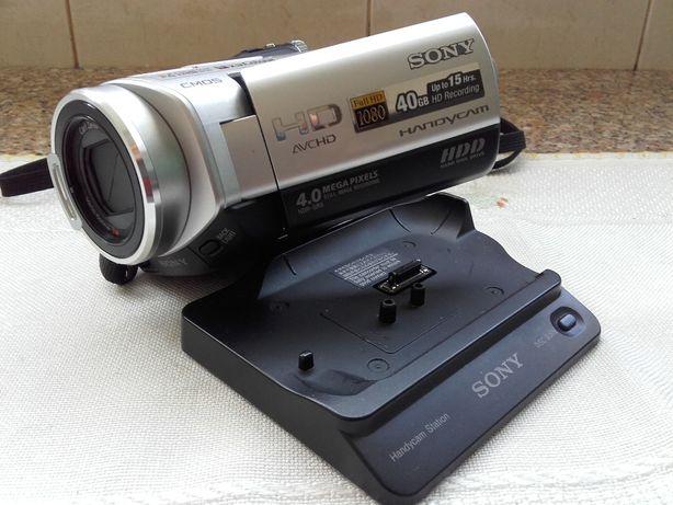 Câmara de vídeo digital de Alta Definição Sony HDR-SR5E 40GB