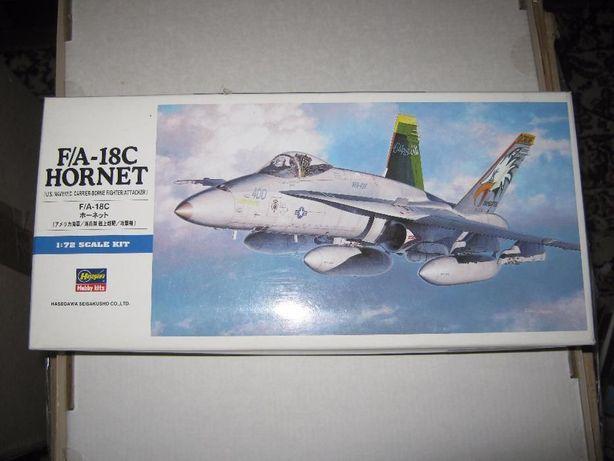 Сборная пластик. модель самолёта F/A-18C ,,Hornet,,(фирма ,,Hasegawa,,