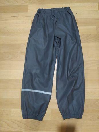 Spodnie nieprzemakalne ocieplane 134/140