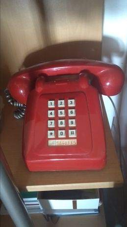 Telefone Vintage Vermelho - ou Troca