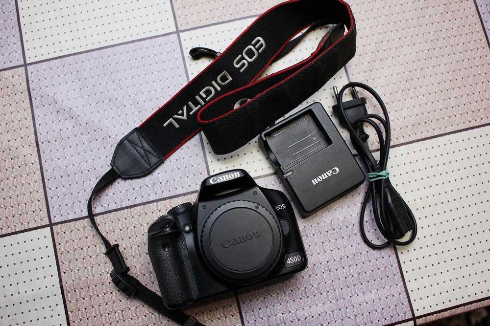Камера Canon 450D Черновцы - изображение 1