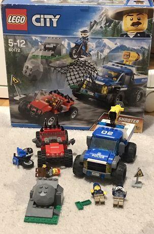Lego pościg górską drogą 60172